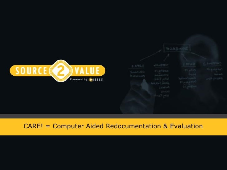 CARE! = Computer Aided Redocumentation & Evaluation