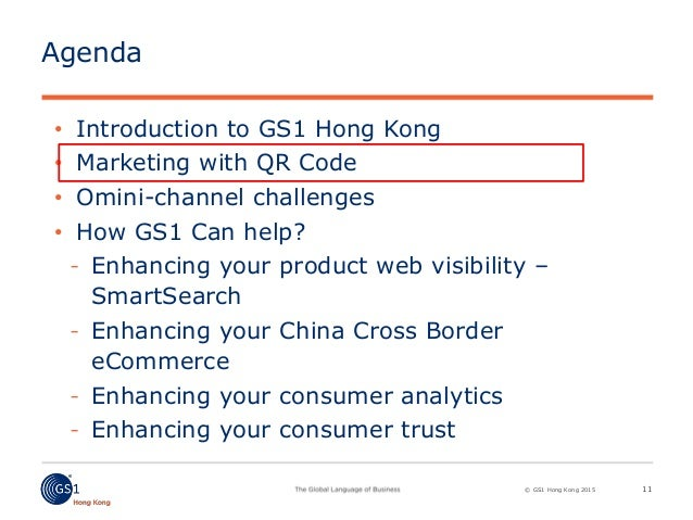 Omni channel strategy and gs1 smart search