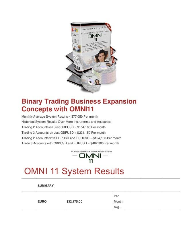 Omni 11 binary options free