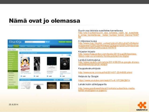 Nämä ovat jo olemassa  Suurin osa lukioista suosittelee kannettavaa  http://yle.fi/uutiset/suurin_osa_lukioista_vaatii_tai...