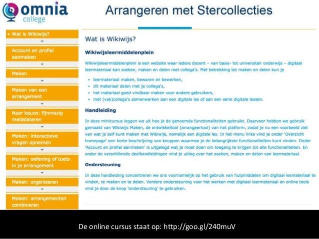 Omnia | arrangeren stercollecties
