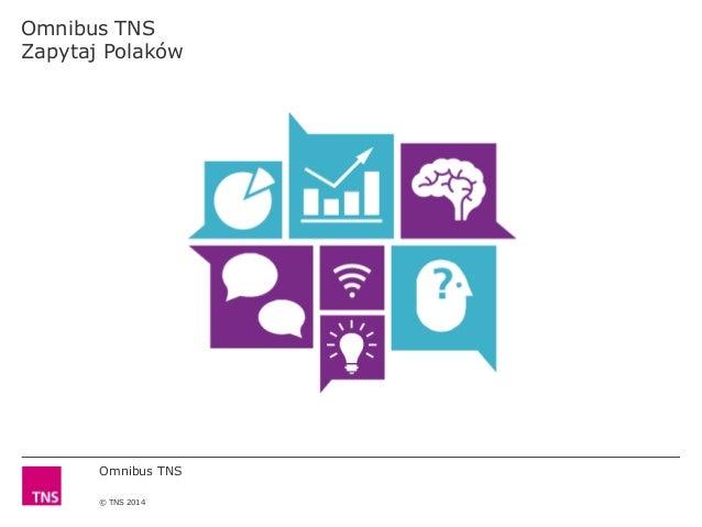Omnibus TNS © TNS 2014 Omnibus TNS Zapytaj Polaków