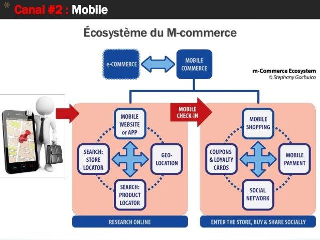 * Canal #2 : Mobile Écosystème du M-commerce