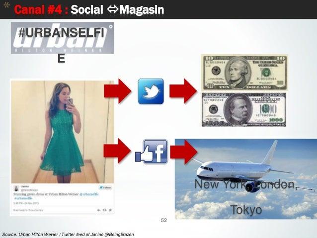 52 * Canal #4 : Social Magasin 52 Source: Urban Hilton Weiner / Twitter feed of Janine @BeingBrazen #URBANSELFI E New Yor...