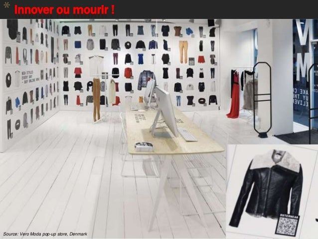 * Innover ou mourir ! 83 Source: MilibooSource: Vero Moda pop-up store, Denmark