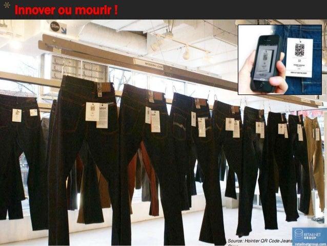 * Innover ou mourir ! 85 Source: MilibooSource: Hointer QR Code Jeans