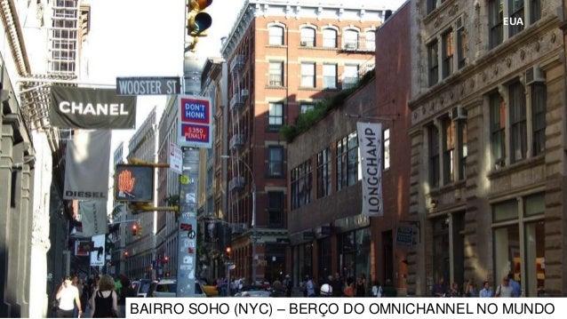 EUA BAIRRO SOHO (NYC) – BERÇO DO OMNICHANNEL NO MUNDO