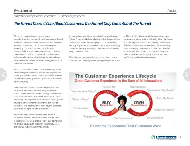 The Funnel Doesn't Care About Customers; The Funnel Only Cares About The Funnel by Brian Solis and Teleperformance Slide 3