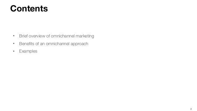 Omnichannel Marketing Slide 2