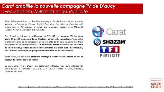 Pour événementialiser la dernière campagne TV de D'aucy et sa nouvelle signature «d'amour et d'aucy», l'entité Opérations ...