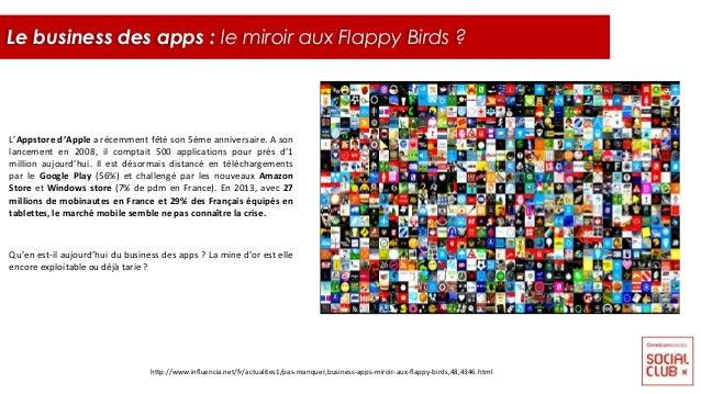 L'Appstore d'Apple a récemment fêté son 5ème anniversaire. A son lancement en 2008, il comptait 500 applications pour près...