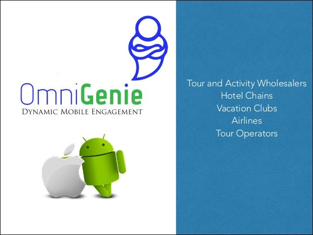 Tour and Activity Wholesalers Hotel Chains Vacation Clubs Airlines Tour Operators