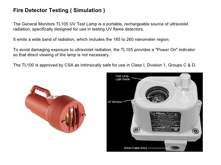 Omni Guard 660 Flame Detector Presentation