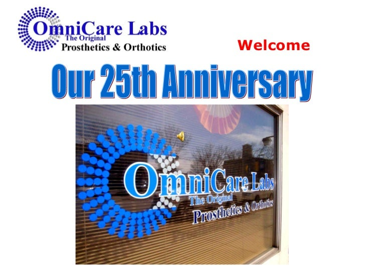 Our 25th Anniversary Welcome