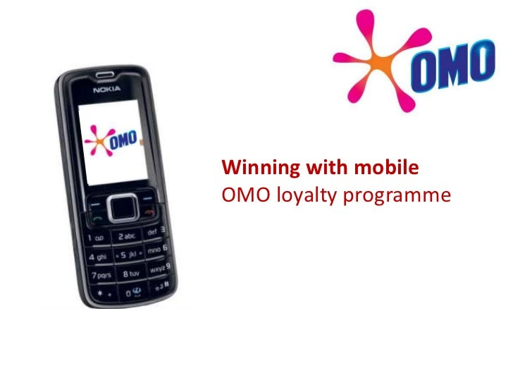 Winning with mobileOMO loyalty programme