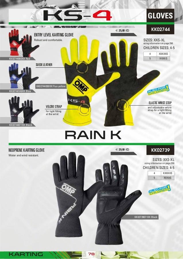 IB//702//N//M Rally Gloves, Black, Medium OMP