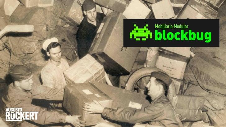 Mobiliario Modularblockbug