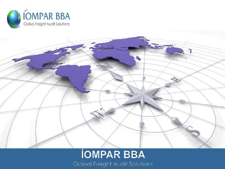 ÍOMPAR BBA are a supplier of Global Freight Audit & Payment Servicesdesigned to enable companies achieve their transportat...