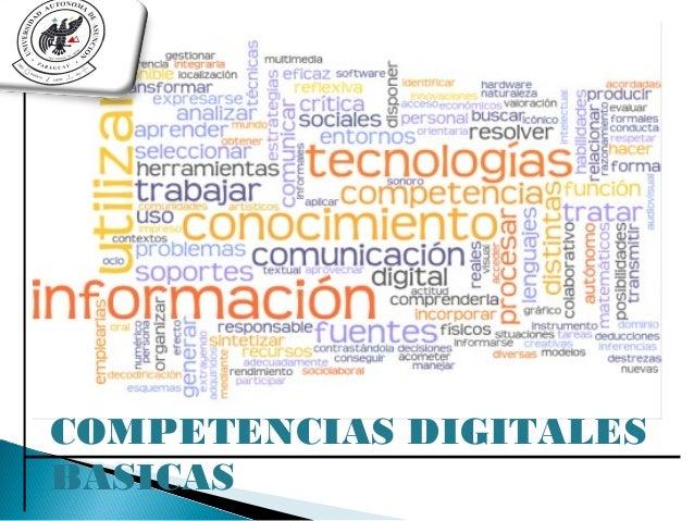 COMPETENCIAS DIGITALESBASICAS