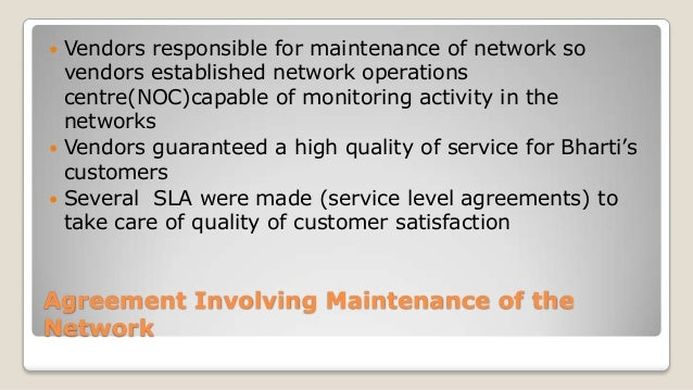 Strategic Outsourcing at Bharti Airtel Ltd. Case Study ...