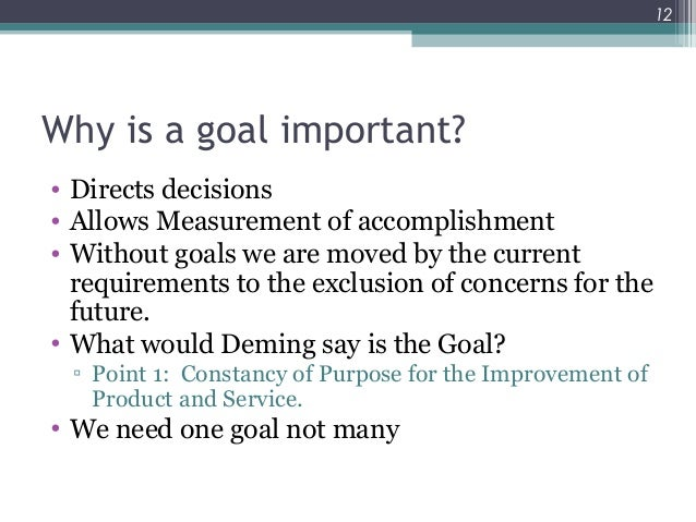 goldratt the goal and 10 om decisions Applying the theory of constraints to increase economic value added: part 1  verduidelik hoe om die teorie van  [10] the goal.