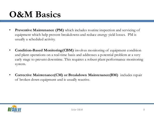 Solar O Amp M Presentation Intersolar 2013