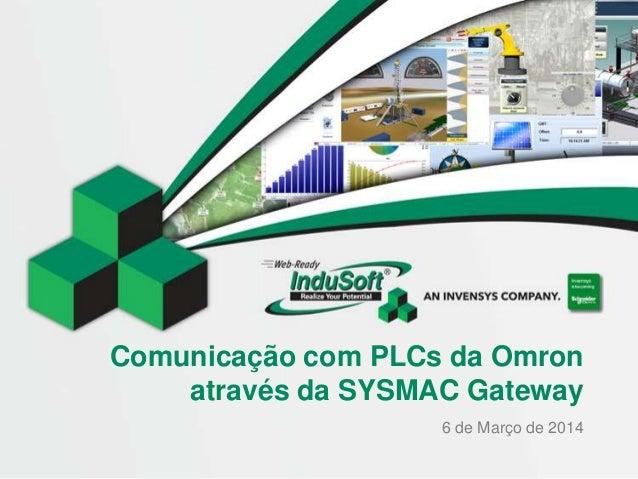 Comunicação com PLCs da Omron através da SYSMAC Gateway 6 de Março de 2014