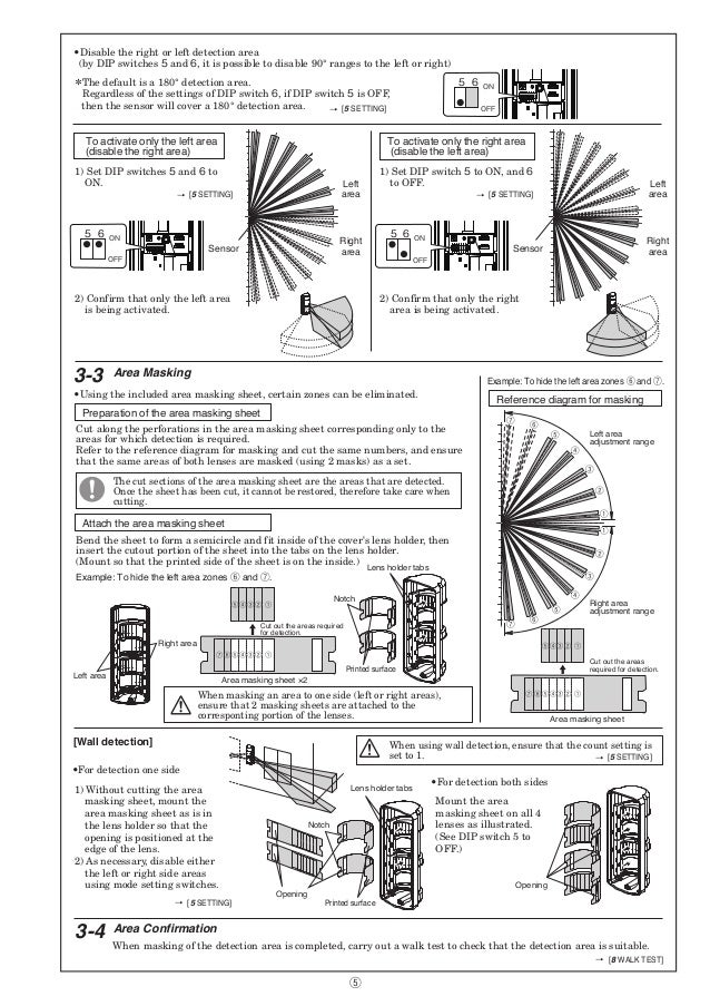 Takex OMS-12FE Instruction Manual
