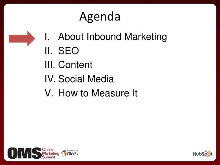 Integrated Inbound Marketing Slide 2