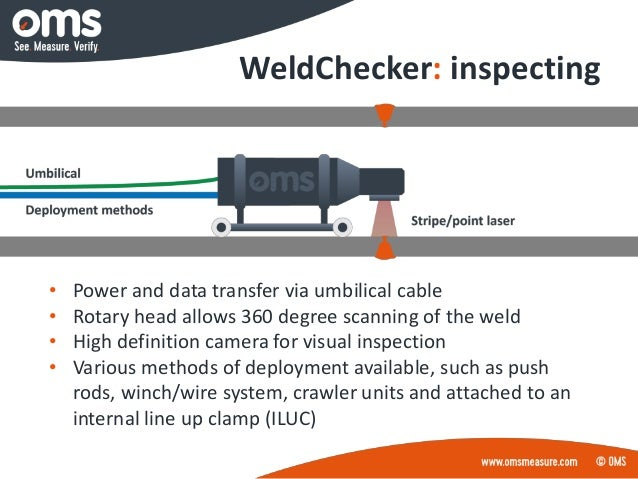 Pipeline Weld Inspection