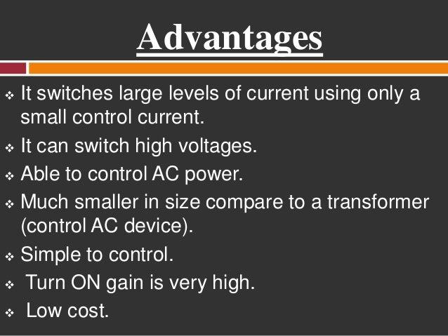 Triac Characteristics