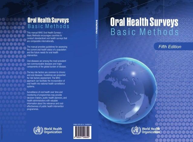 OralHealthSurveysBasicMethods