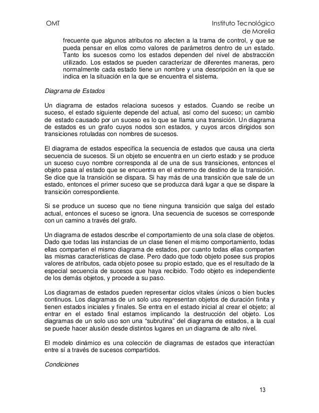 OMT Instituto Tecnológico de Morelia 13 frecuente que algunos atributos no afecten a la trama de control, y que se pueda p...