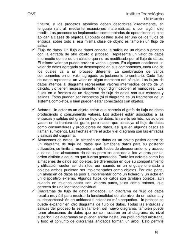 OMT Instituto Tecnológico de Morelia 18 finaliza, y los procesos atómicos deben describirse directamente, en lenguaje natu...