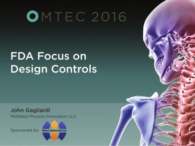©Copyright, 2016, MPI, LLC www.midwestprocessinnovation.com 1 OMTEC 2016 John Gagliardi MidWest Process Innovation, LLC FD...