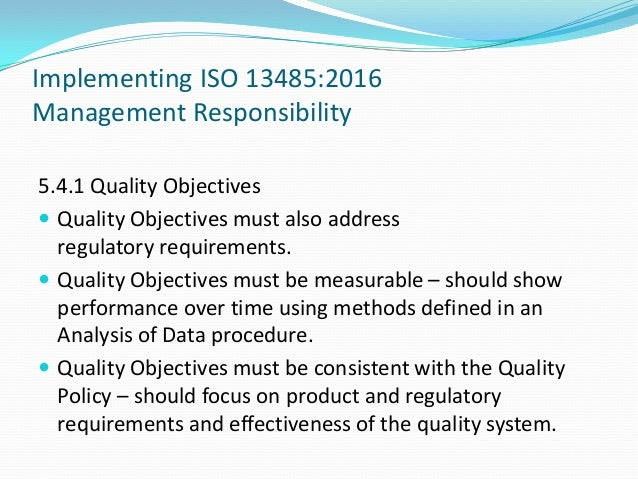 How To Implement Iso 13485 Updates