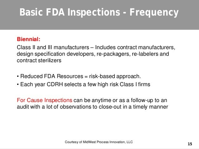 FDA Inspections are Different from ISO Audits, So Don't