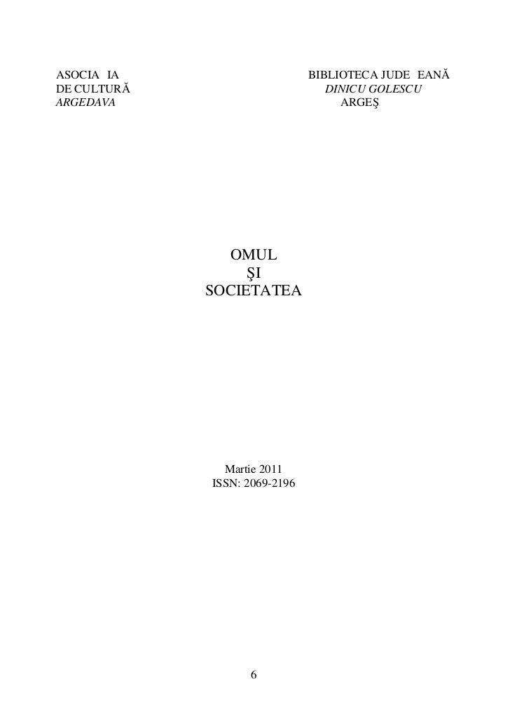 ASOCIAŢIA                      BIBLIOTECA JUDEŢEANĂDE CULTURĂ                        DINICU GOLESCUARGEDAVA               ...