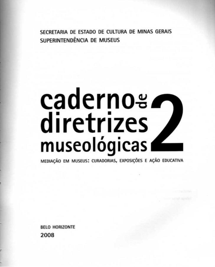O museu como processo