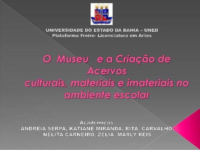 Museu é uma palavra de origem latina proveniente do termo Museum, que por sua vez deriva do grego mouseion. Inicialmente,...