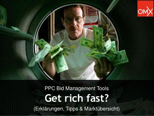 PPC Bid Management Tools  Get rich fast? (Erklärungen, Tipps & Marktübersicht)  1