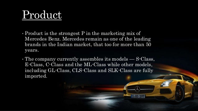 mercedes ForMercedes Benz Marketing Mix