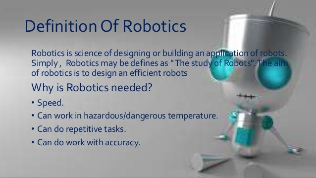 Robotics By Maryam Javed