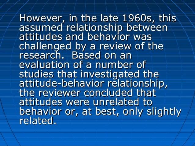 moderators of the attitude behavior relationship help