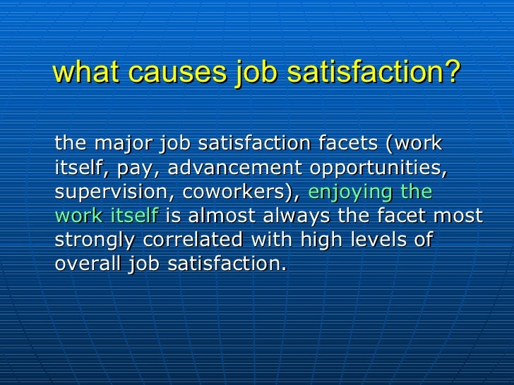 job attitudes and job satisfaction Over the past 100 years, research on job attitudes has improved in the sophistication of methods and in the productive use of theory as a basis for fundamental research into questions of work psychology.