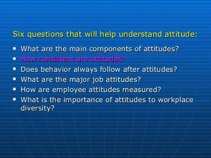 Does behavior always follow from attitudes