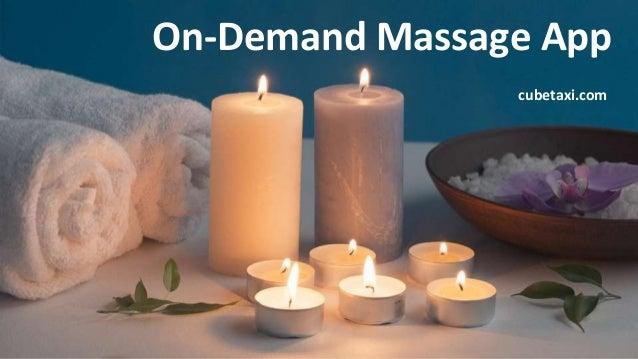 On-Demand Massage App cubetaxi.com