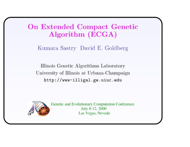 On Extended Compact Genetic Algorithm