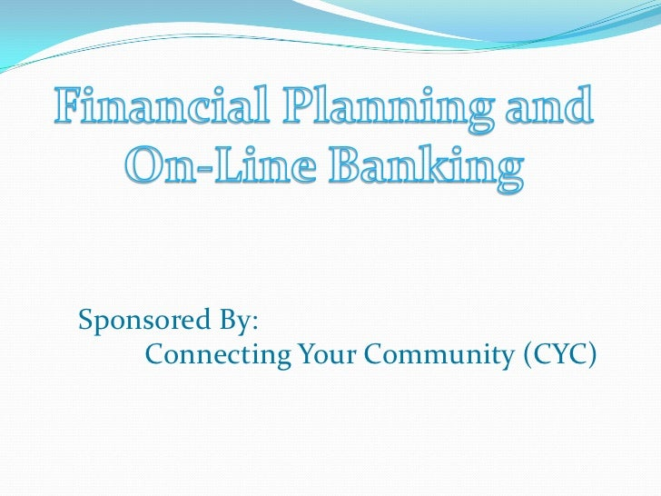 Sponsored By:    Connecting Your Community (CYC)