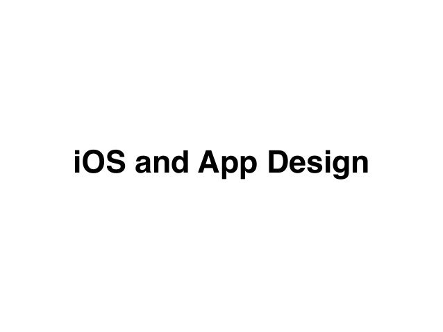 Designing Type for User Interface